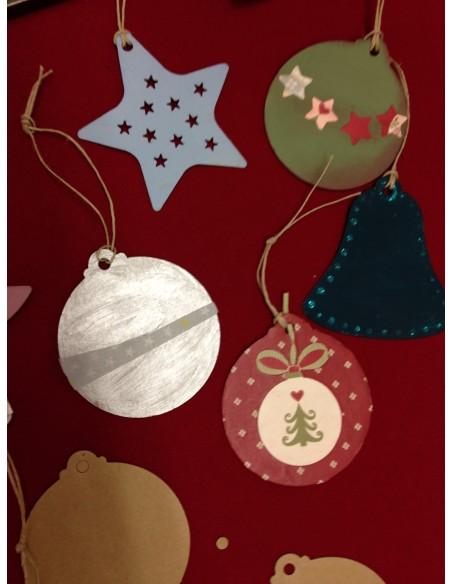 Guarniments de Nadal de cartró